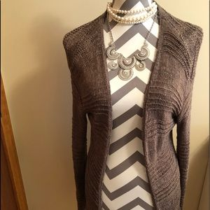 H&M Brown cardigan